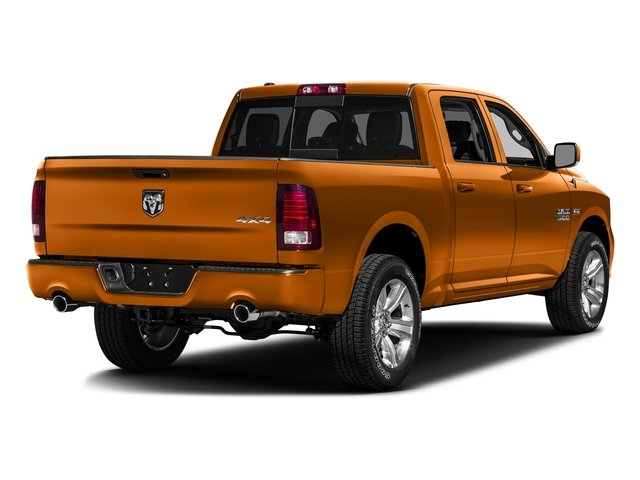 Omaha Orange 2016 Ram Truck 1500 Pictures 1500 Crew Cab Express 2WD photos rear view