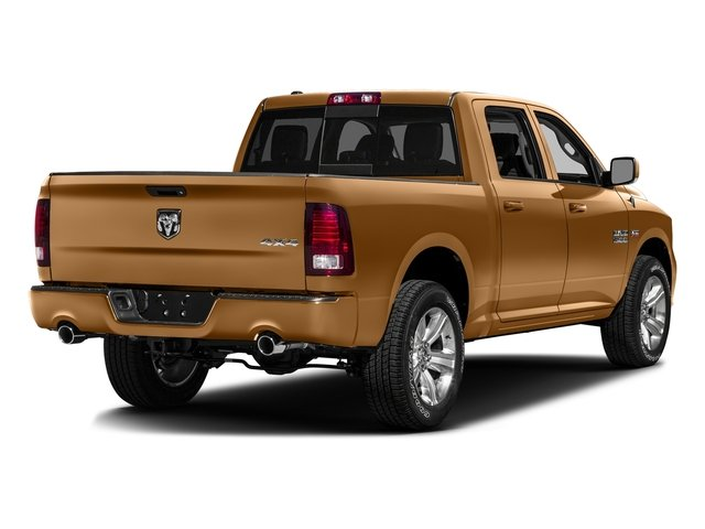 Power Tan 2016 Ram Truck 1500 Pictures 1500 Crew Cab Outdoorsman 4WD photos rear view