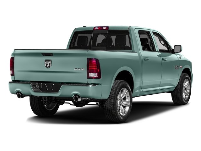 Light Green 2016 Ram Truck 1500 Pictures 1500 Crew Cab Outdoorsman 4WD photos rear view
