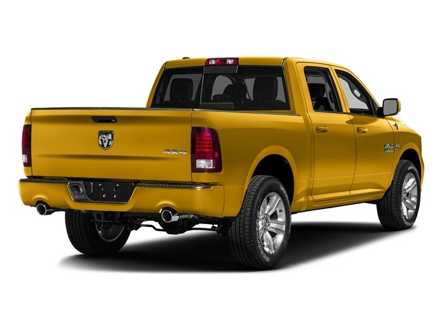 School Bus Yellow 2016 Ram Truck 1500 Pictures 1500 Crew Cab Express 2WD photos rear view
