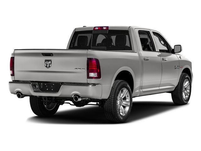Bright Silver Metallic Clearcoat 2016 Ram Truck 1500 Pictures 1500 Crew Cab Sport 2WD photos rear view