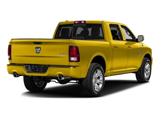 Detonator Yellow Clearcoat 2016 Ram Truck 1500 Pictures 1500 Crew Cab Express 2WD photos rear view