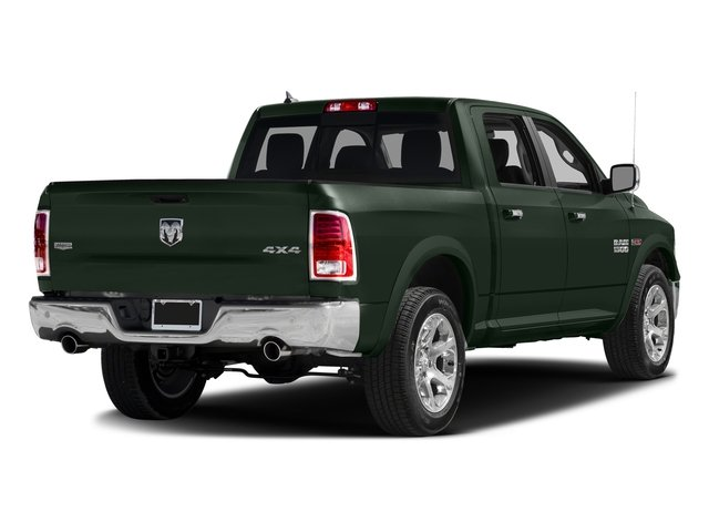 Black Forest Green Pearlcoat 2016 Ram Truck 1500 Pictures 1500 Crew Cab Laramie 2WD photos rear view