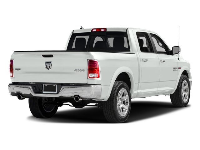 Bright White Clearcoat 2016 Ram Truck 1500 Pictures 1500 Crew Cab Laramie 2WD photos rear view