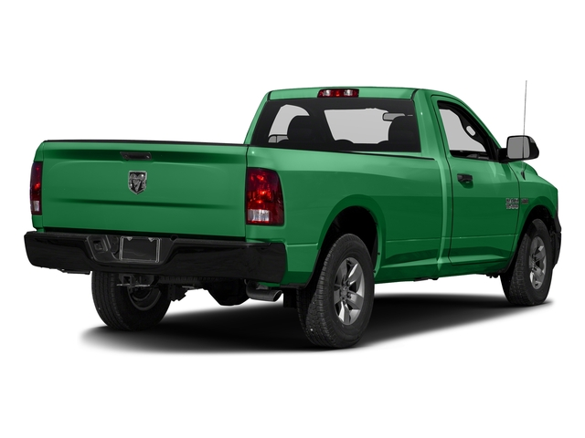 Bright Green 2016 Ram Truck 1500 Pictures 1500 Regular Cab Express 2WD photos rear view