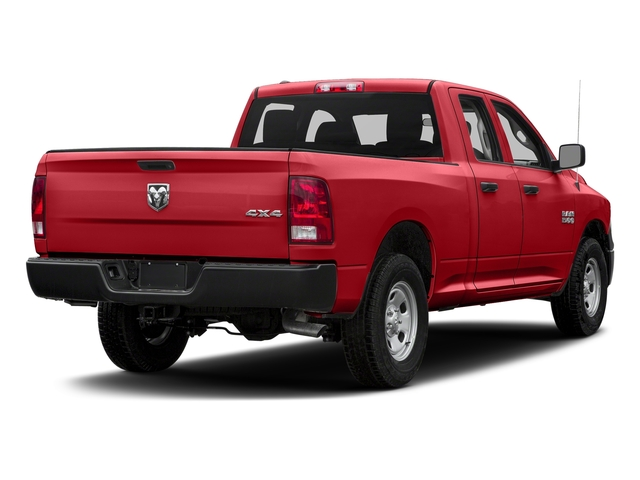 Bright Red 2016 Ram Truck 1500 Pictures 1500 Quad Cab Tradesman 4WD photos rear view
