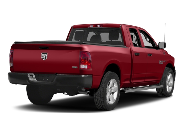 Flame Red Clearcoat 2016 Ram Truck 1500 Pictures 1500 Quad Cab HFE 2WD V6 T-Diesel photos rear view