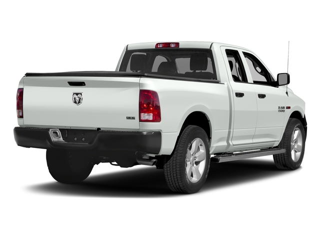 Bright White Clearcoat 2016 Ram Truck 1500 Pictures 1500 Quad Cab HFE 2WD V6 T-Diesel photos rear view
