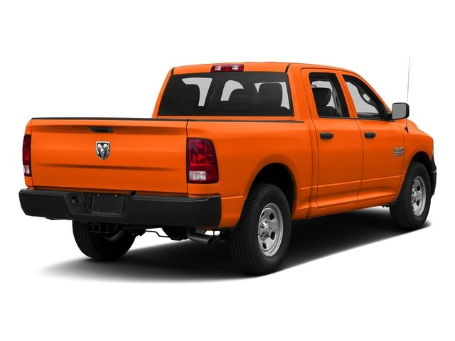 Omaha Orange 2016 Ram Truck 1500 Pictures 1500 Crew Cab Tradesman 2WD photos rear view