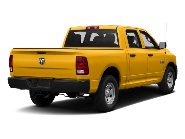 Construction Yellow 2016 Ram Truck 1500 Pictures 1500 Crew Cab Tradesman 2WD photos rear view