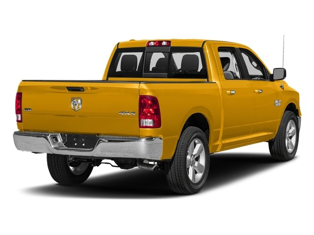 Construction Yellow 2016 Ram Truck 1500 Pictures 1500 Crew Cab SLT 2WD photos rear view