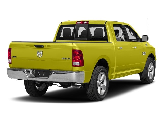 National Safety Yellow 2016 Ram Truck 1500 Pictures 1500 Crew Cab SLT 2WD photos rear view