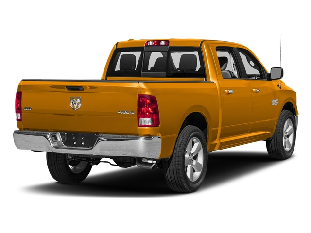 School Bus Yellow 2016 Ram Truck 1500 Pictures 1500 Crew Cab SLT 2WD photos rear view
