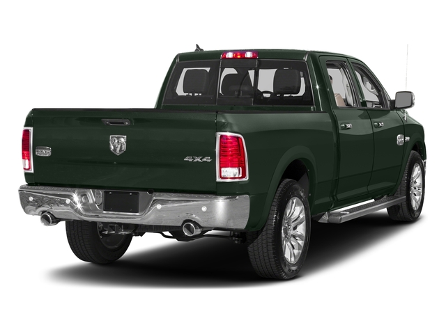 Black Forest Green Pearlcoat 2016 Ram Truck 1500 Pictures 1500 Crew Cab Longhorn 2WD photos rear view