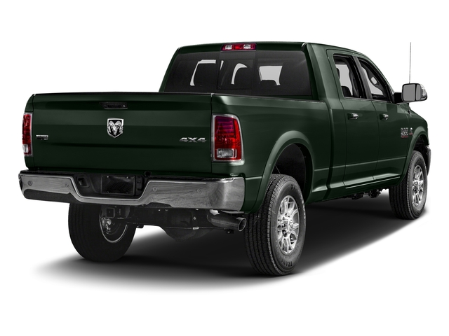 Black Forest Green Pearlcoat 2016 Ram Truck 2500 Pictures 2500 Mega Cab Laramie 4WD photos rear view