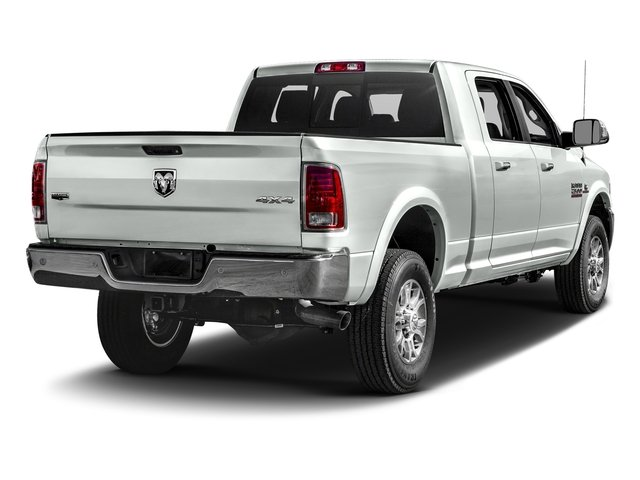 Bright White Clearcoat 2016 Ram Truck 2500 Pictures 2500 Mega Cab Laramie 2WD photos rear view
