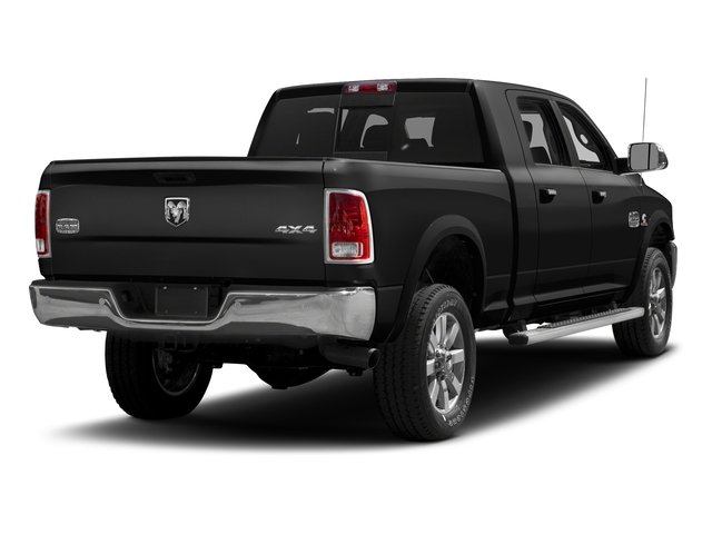 Brilliant Black Crystal Pearlcoat 2016 Ram Truck 2500 Pictures 2500 Mega Cab Limited 2WD photos rear view