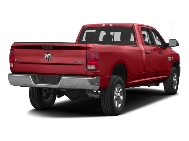 Bright Red 2016 Ram Truck 3500 Pictures 3500 Crew Cab SLT 4WD photos rear view