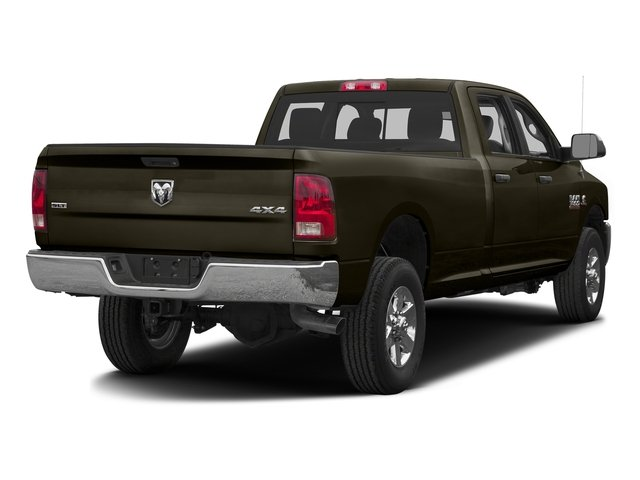 Dark Brown 2016 Ram Truck 3500 Pictures 3500 Crew Cab SLT 2WD photos rear view