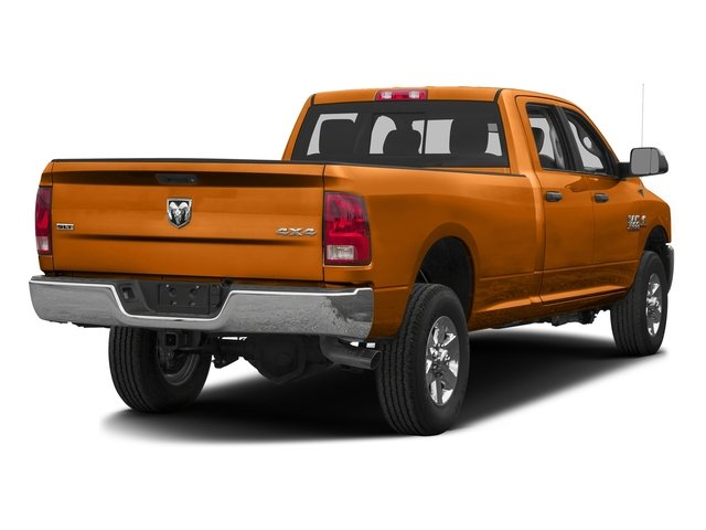 Omaha Orange 2016 Ram Truck 3500 Pictures 3500 Crew Cab SLT 4WD photos rear view