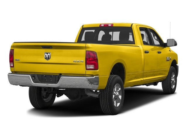 Yellow 2016 Ram Truck 3500 Pictures 3500 Crew Cab SLT 4WD photos rear view