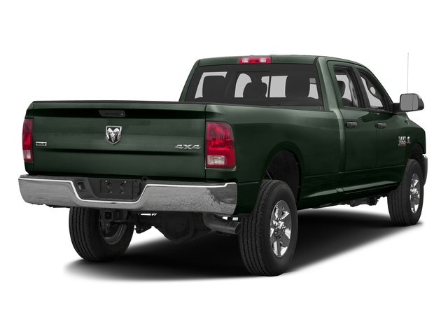 Black Forest Green Pearlcoat 2016 Ram Truck 3500 Pictures 3500 Crew Cab SLT 4WD photos rear view