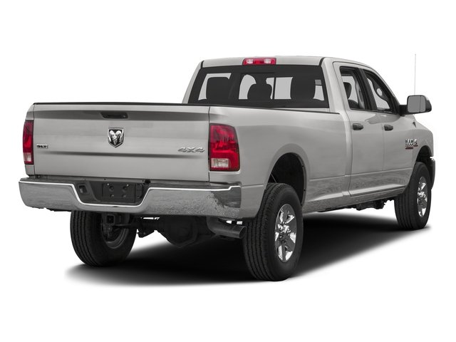 Bright Silver Metallic Clearcoat 2016 Ram Truck 3500 Pictures 3500 Crew Cab SLT 2WD photos rear view
