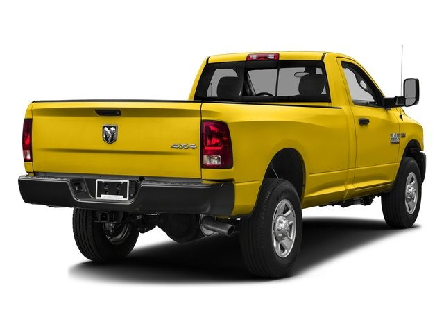 Yellow 2016 Ram Truck 3500 Pictures 3500 Regular Cab SLT 2WD photos rear view