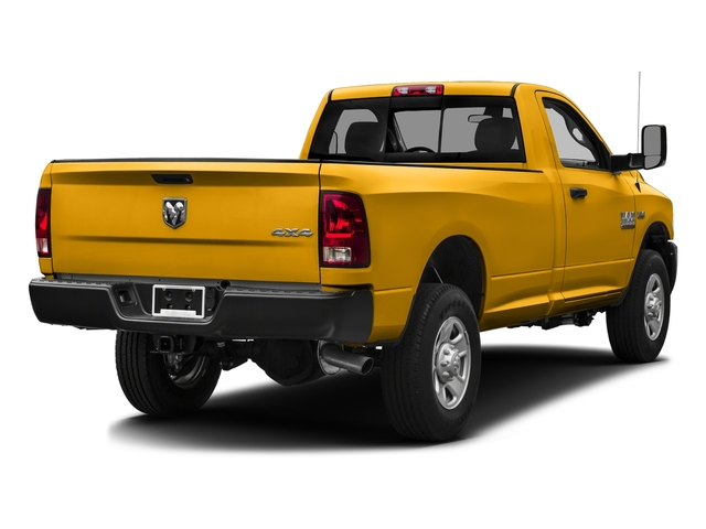 Construction Yellow 2016 Ram Truck 3500 Pictures 3500 Regular Cab SLT 2WD photos rear view