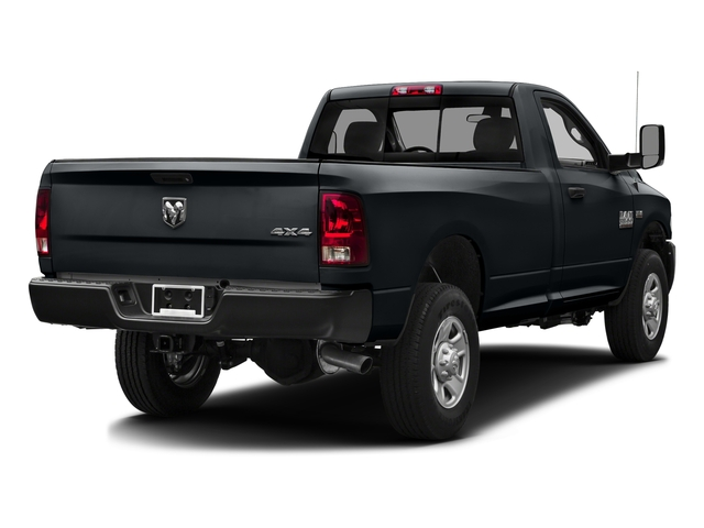 Maximum Steel Metallic Clearcoat 2016 Ram Truck 3500 Pictures 3500 Regular Cab SLT 2WD photos rear view
