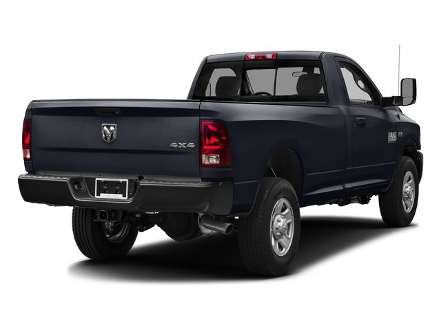 Midnight Blue Pearlcoat 2016 Ram Truck 3500 Pictures 3500 Regular Cab SLT 2WD photos rear view