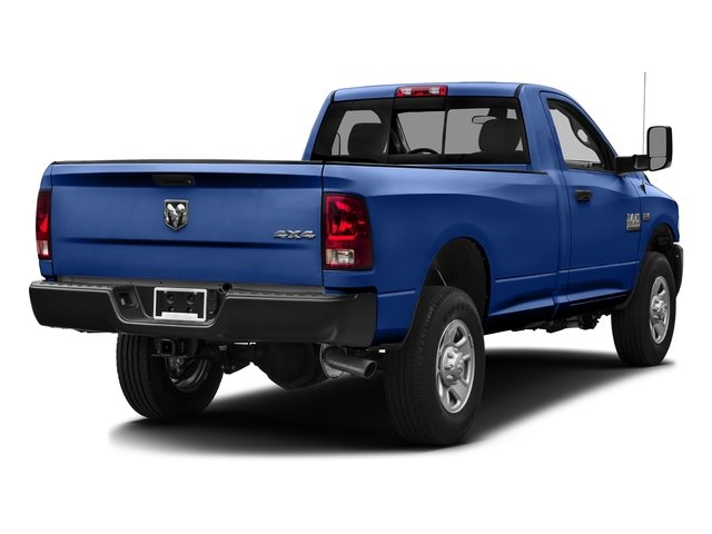 Blue Streak Pearlcoat 2016 Ram Truck 3500 Pictures 3500 Regular Cab SLT 2WD photos rear view