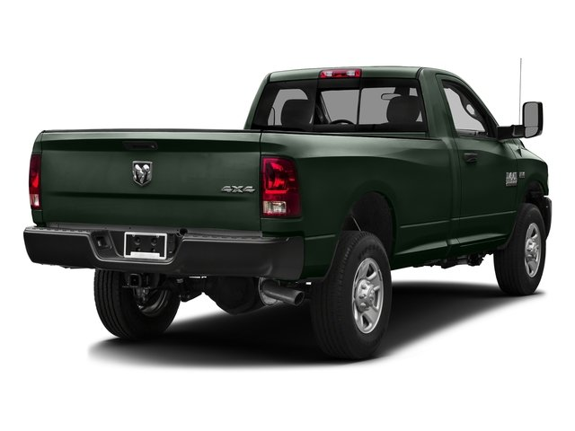 Black Forest Green Pearlcoat 2016 Ram Truck 3500 Pictures 3500 Regular Cab SLT 2WD photos rear view