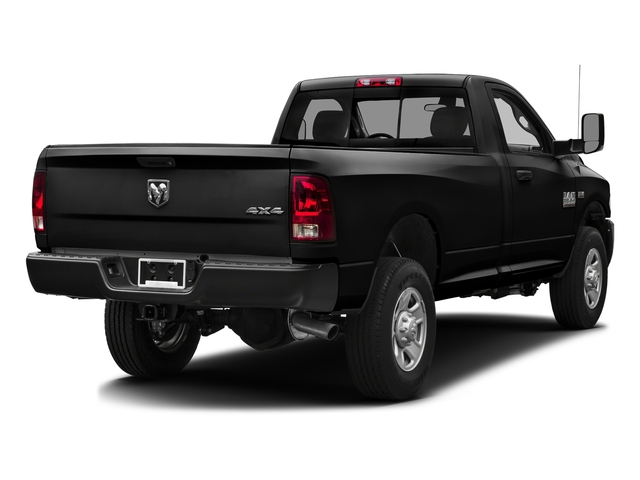 Brilliant Black Crystal Pearlcoat 2016 Ram Truck 3500 Pictures 3500 Regular Cab SLT 2WD photos rear view