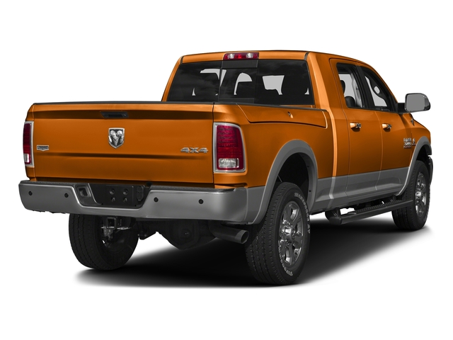 Omaha Orange 2016 Ram Truck 3500 Pictures 3500 Mega Cab SLT 2WD photos rear view