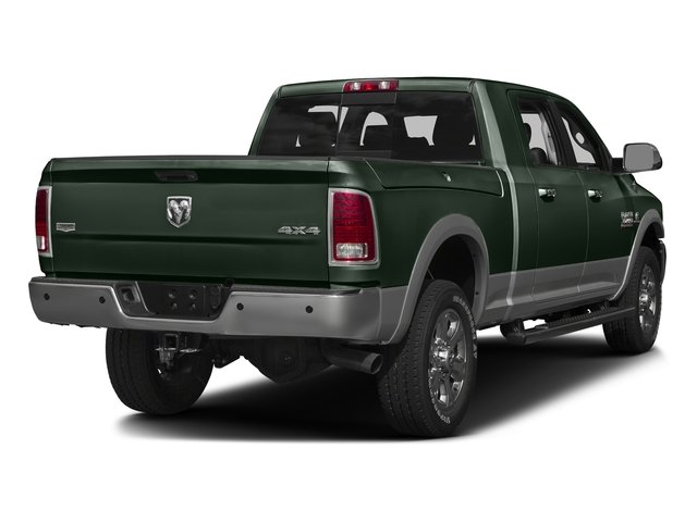 Black Forest Green Pearlcoat 2016 Ram Truck 3500 Pictures 3500 Mega Cab Laramie 2WD photos rear view