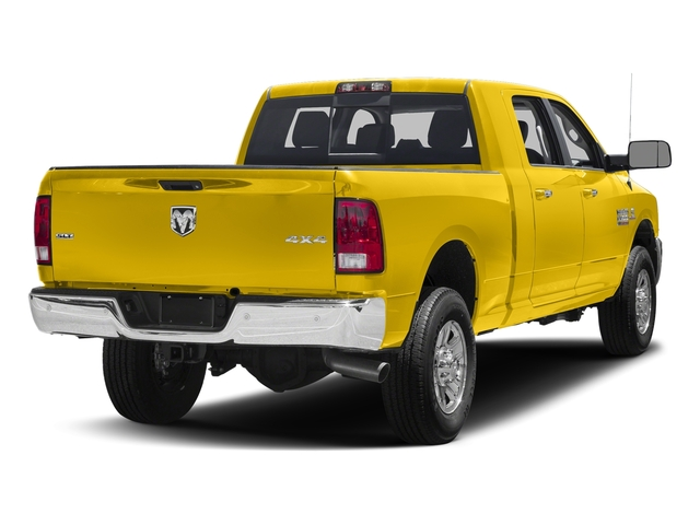 Yellow 2016 Ram Truck 3500 Pictures 3500 Mega Cab SLT 4WD photos rear view