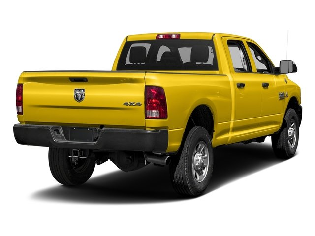Yellow 2016 Ram Truck 3500 Pictures 3500 Crew Cab Tradesman 2WD photos rear view