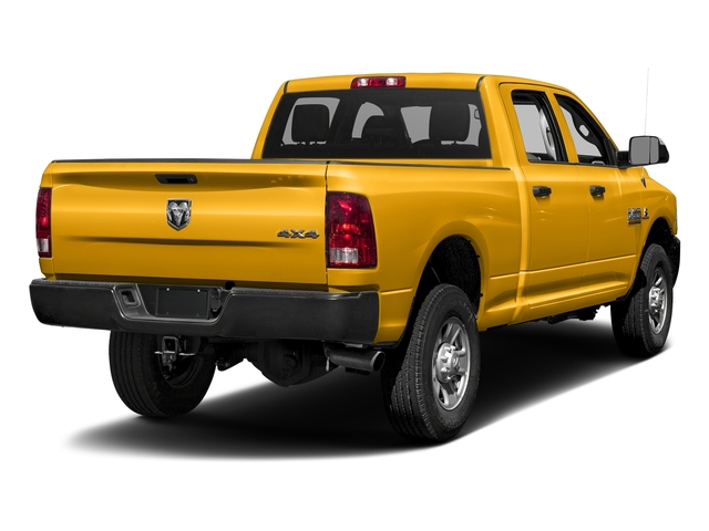 Construction Yellow 2016 Ram Truck 3500 Pictures 3500 Crew Cab Tradesman 2WD photos rear view
