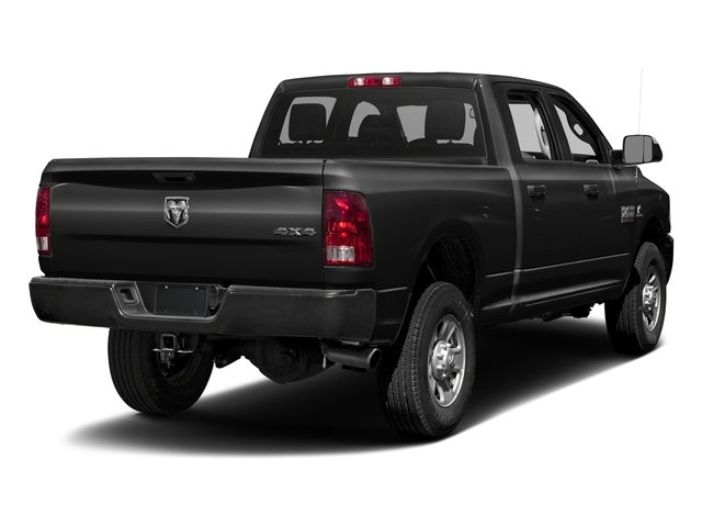 Brilliant Black Crystal Pearlcoat 2016 Ram Truck 3500 Pictures 3500 Crew Cab Tradesman 2WD photos rear view