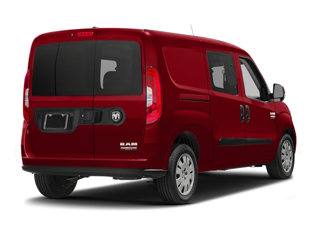 Bright Red 2016 Ram Truck ProMaster City Wagon Pictures ProMaster City Wagon Passenger Van SLT photos rear view
