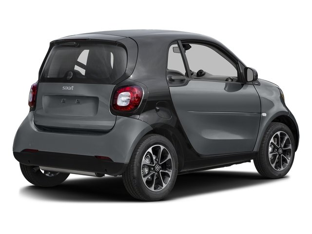 Titania Grey (Matte) 2016 smart fortwo Pictures fortwo Coupe 2D Pure I3 photos rear view
