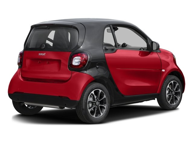 Stoplight Red 2016 smart fortwo Pictures fortwo Coupe 2D Pure I3 photos rear view