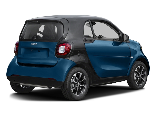 Midnight Blue (metallic) 2016 smart fortwo Pictures fortwo Coupe 2D Pure I3 photos rear view