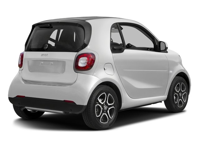 Arctic White 2016 smart fortwo Pictures fortwo Coupe 2D Proxy I3 photos rear view