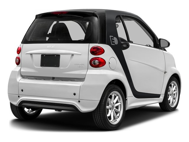 Crystal White 2016 smart fortwo electric drive Pictures fortwo electric drive Coupe 2D Electric photos rear view