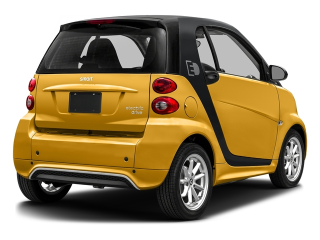 Clear Flame Yellow 2016 smart fortwo electric drive Pictures fortwo electric drive Coupe 2D Electric photos rear view