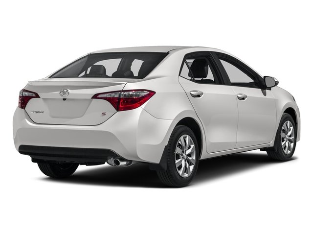 Super White 2016 Toyota Corolla Pictures Corolla Sedan 4D Special Edition I4 photos rear view