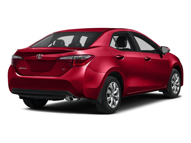 Absolutely Red 2016 Toyota Corolla Pictures Corolla Sedan 4D Special Edition I4 photos rear view