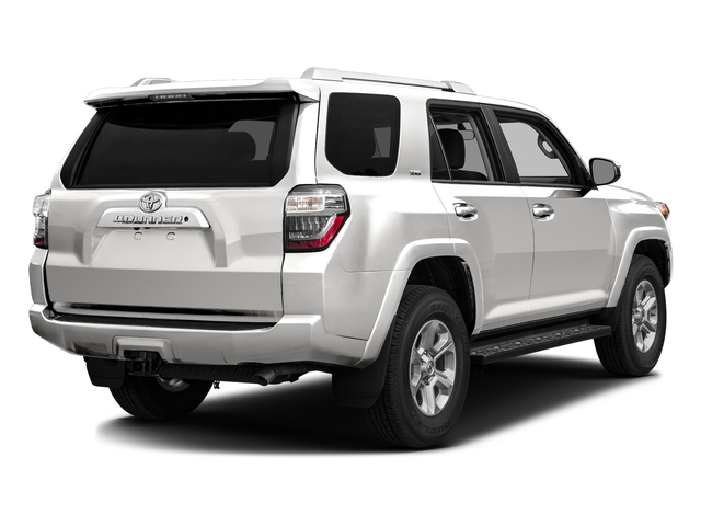 Super White 2016 Toyota 4Runner Pictures 4Runner Utility 4D SR5 2WD V6 photos rear view